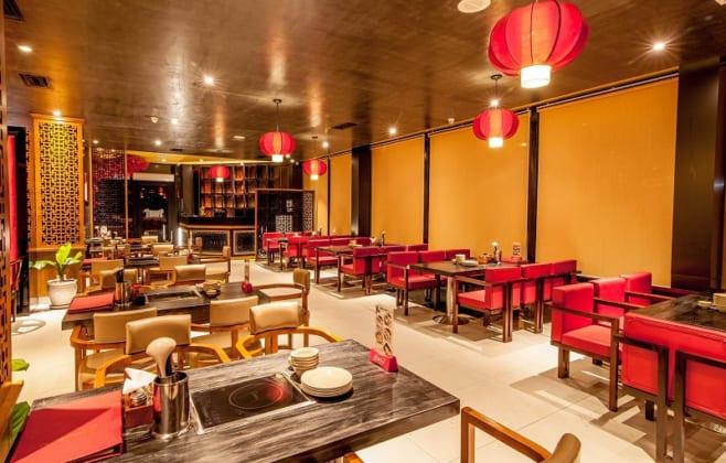 không gian Nhà hàng Mongkok