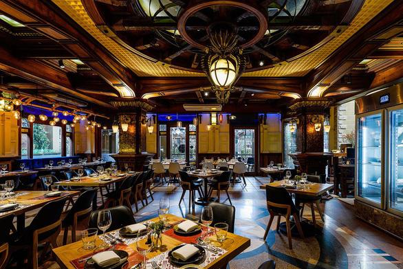 không gian nhà hàng Ngọc Sương nhà hàng liên hoan cuối năm sài gòn