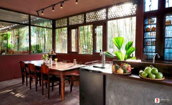 không gian Nhà hàng chay PI BISTRO