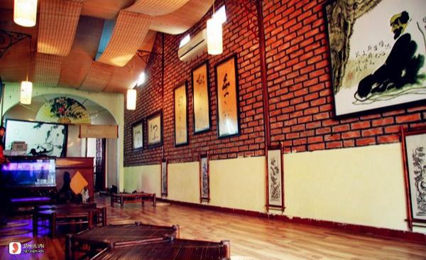 không gian Nhà hàng chay Phù Trúc