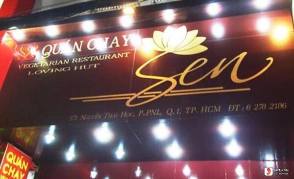 không gian Nhà hàng chay Sen
