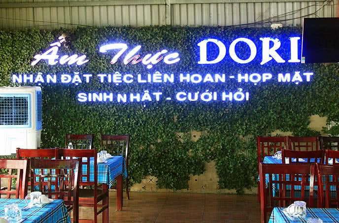 không gian Nhà hàng Dori