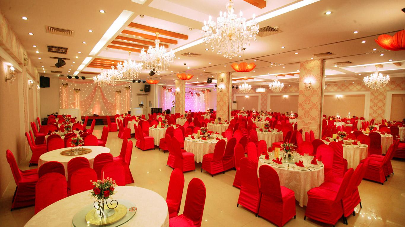 không gian Nhà hàng Hoàng Long 2