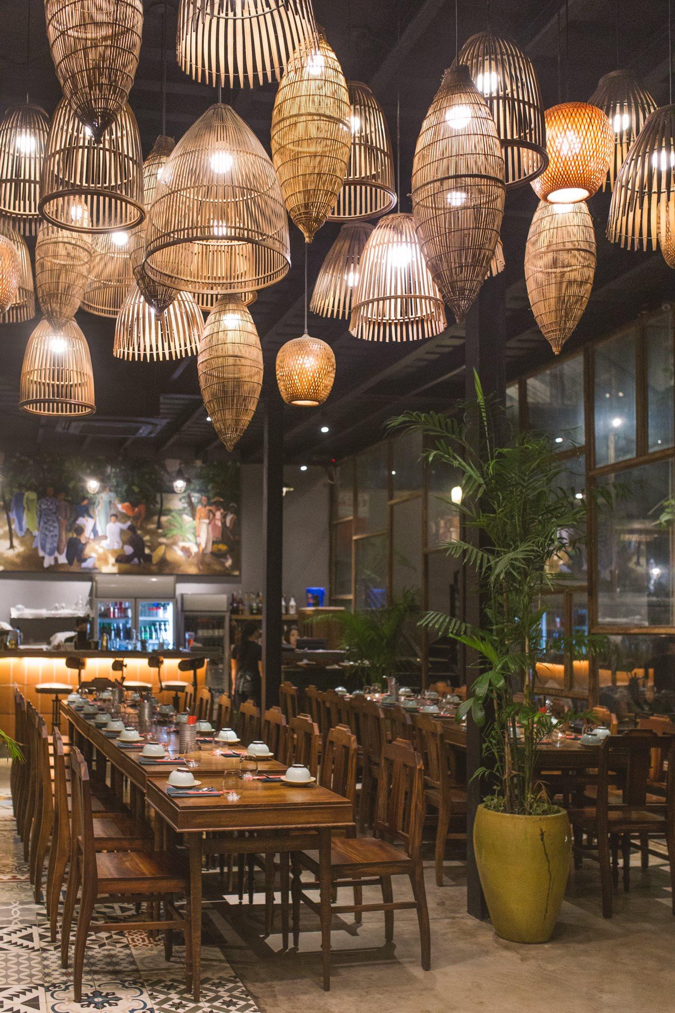không gian Nhà hàng Quán Bụi 1