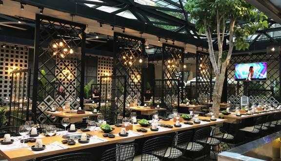 không gian Shilla Korean BBQRestaurant