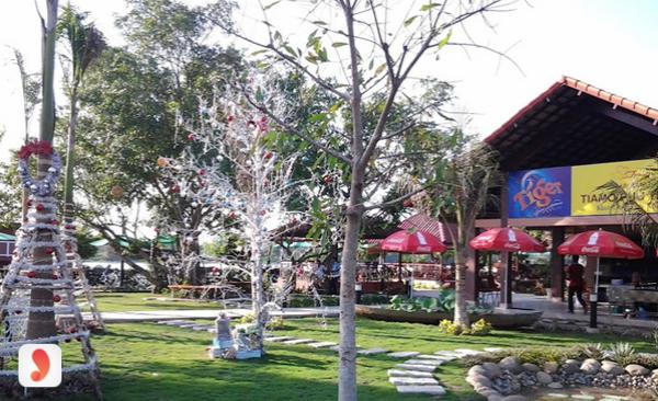 không gian nhà hàng Tiamo Phú Thịnh