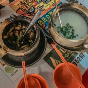 Cháo ếch Singapore nổi tiếng