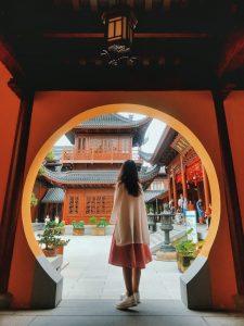 Một góc của chùa Ngọc Phật - Thượng Hải!
