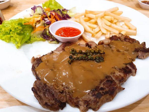 menu Nhà hàng Bò Nướng Flamme Buffalo