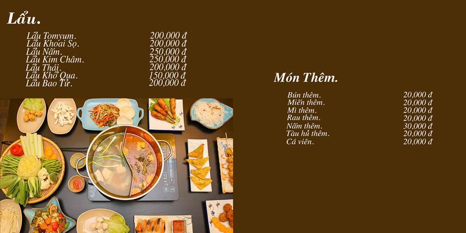 menu KVegetarian-Restaurant & Café