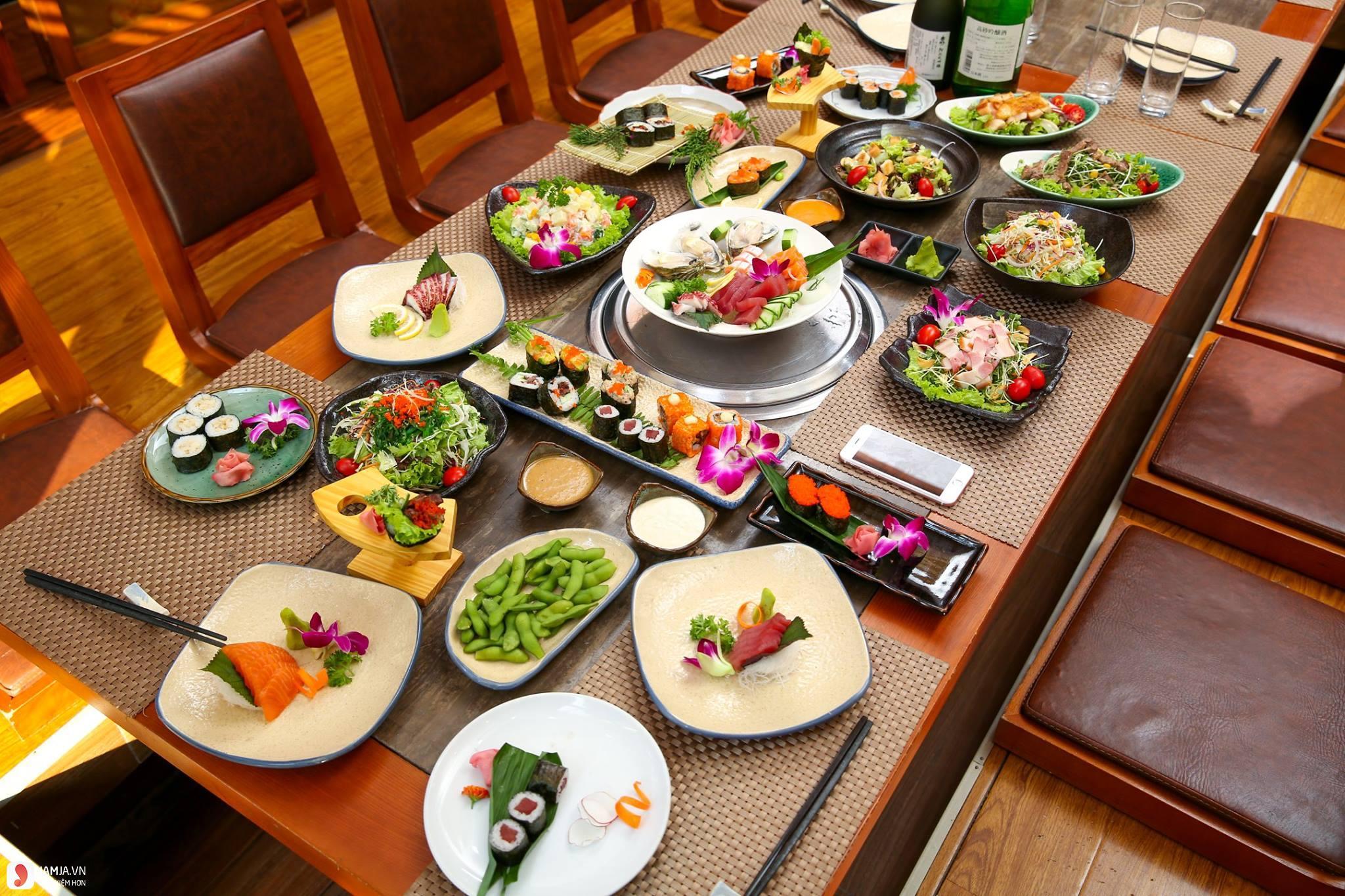 menu Sashimi BBQ Garden