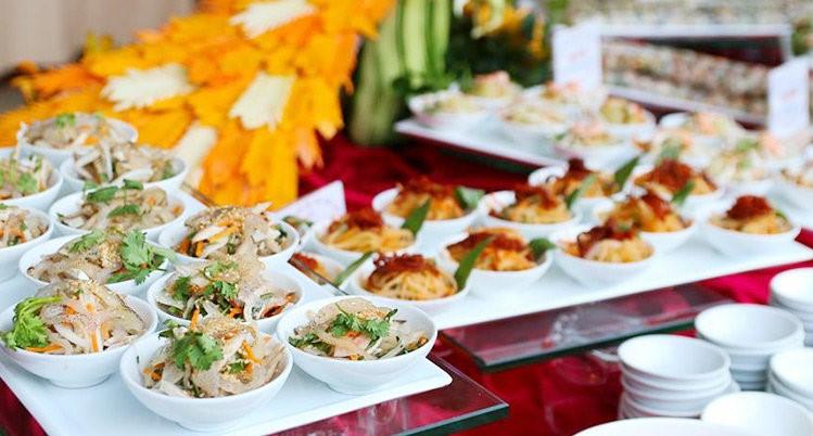 menu Nhà hàng Buffet Đệ Nhất nhà hàng liên hoan cuối năm sài gòn