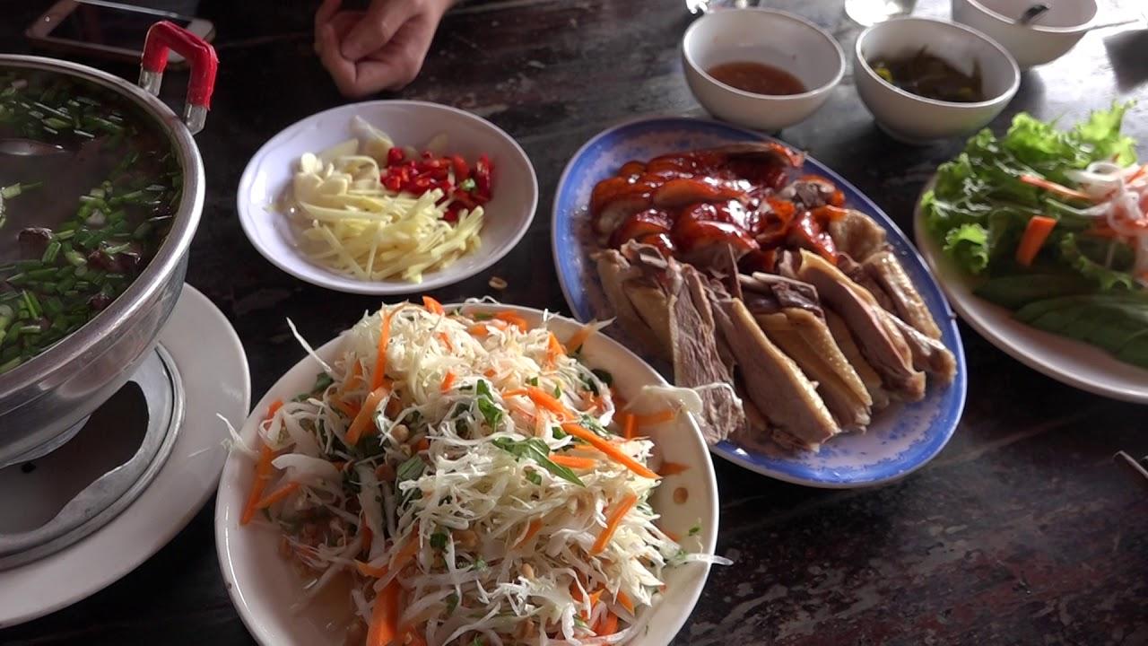 menu Quán Vịt Cu Chì