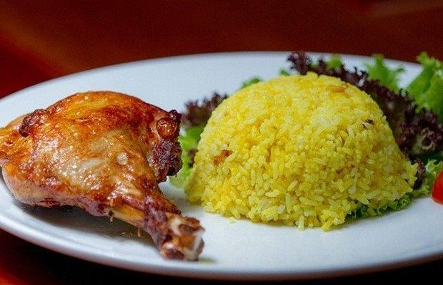menu Cơm gà xối mỡ Phượng Hoàng 7