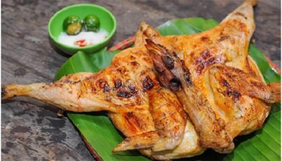 menu Quán gà nướng 6 Gà