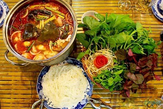 menu Nhà hàng Thiết Mộc Lan
