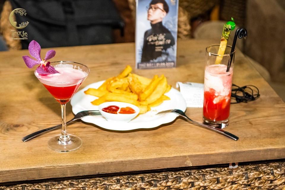 menu Nhà hàng Trixie Cafe & Lounge