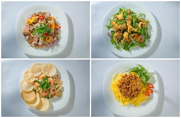 menu nhà hàng Con Gà Trống