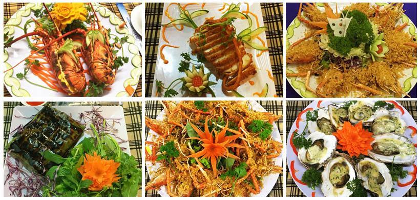 menu Nhà hàng Dori