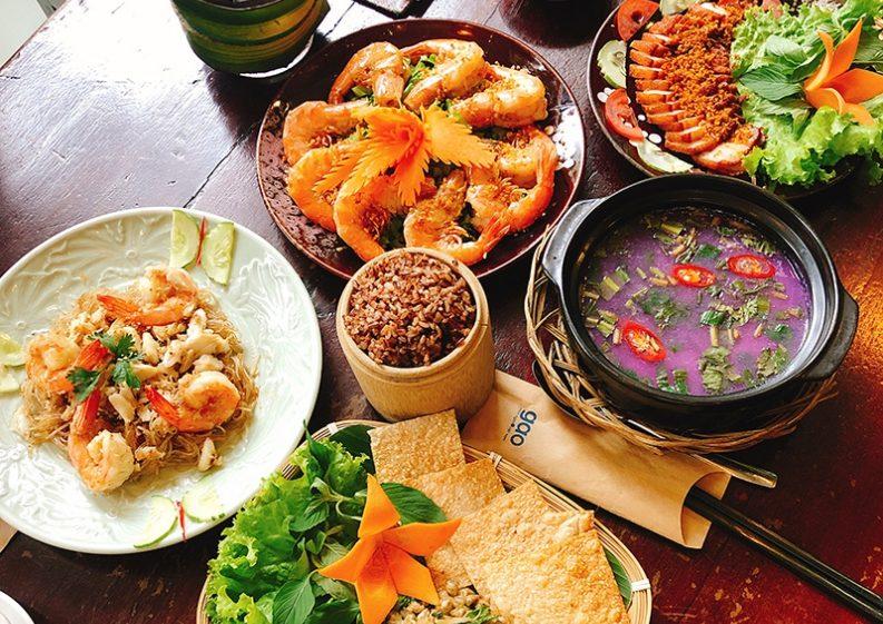 nhà hàng liên hoan cuối năm quận 3, menu Nhà hàng Gạo