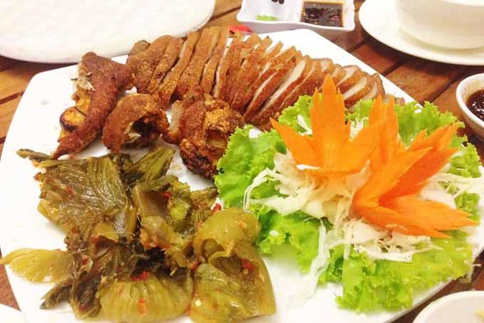 menu Nhà hàng Gió Sông