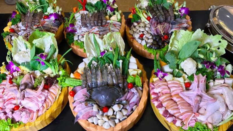 menu Nhà hàng Hải Sản Lã Vọng