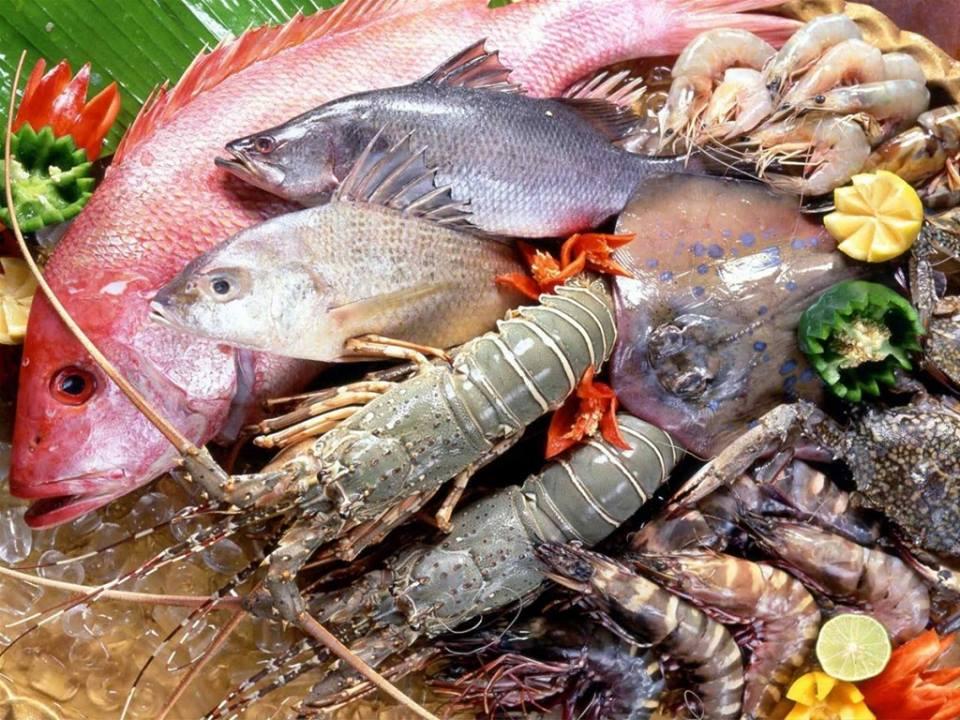 menu Hải sản Phố Biển