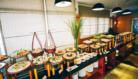 menu nhà hàng Level 9