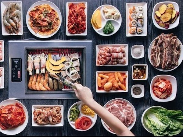menu Shilla Korean BBQ Restaurant