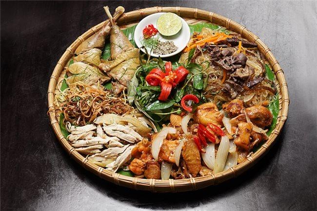 nhà hàng liên hoan cuối năm quận 3, menu Nhà hàng Vườn Quê