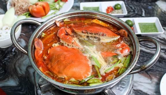 menu Quán Hai Nù 3, nhà hàng hải sản bình dương