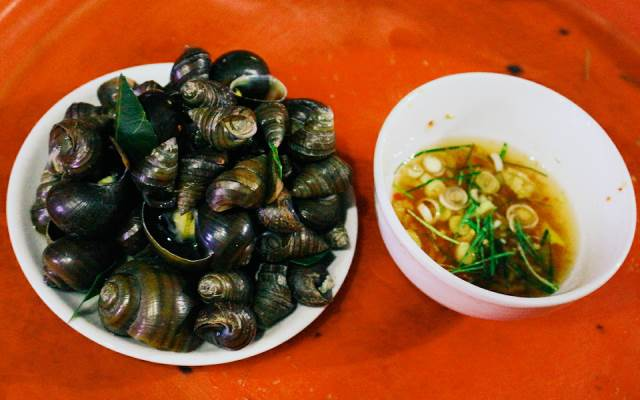 menu Quán Ốc Đảo, nhà hàng hải sản bình dương