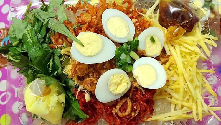 menu Quán Ăn Vặt Hàng Dừa