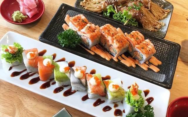 quán ăn ngon ở bình dương Sóc sushi