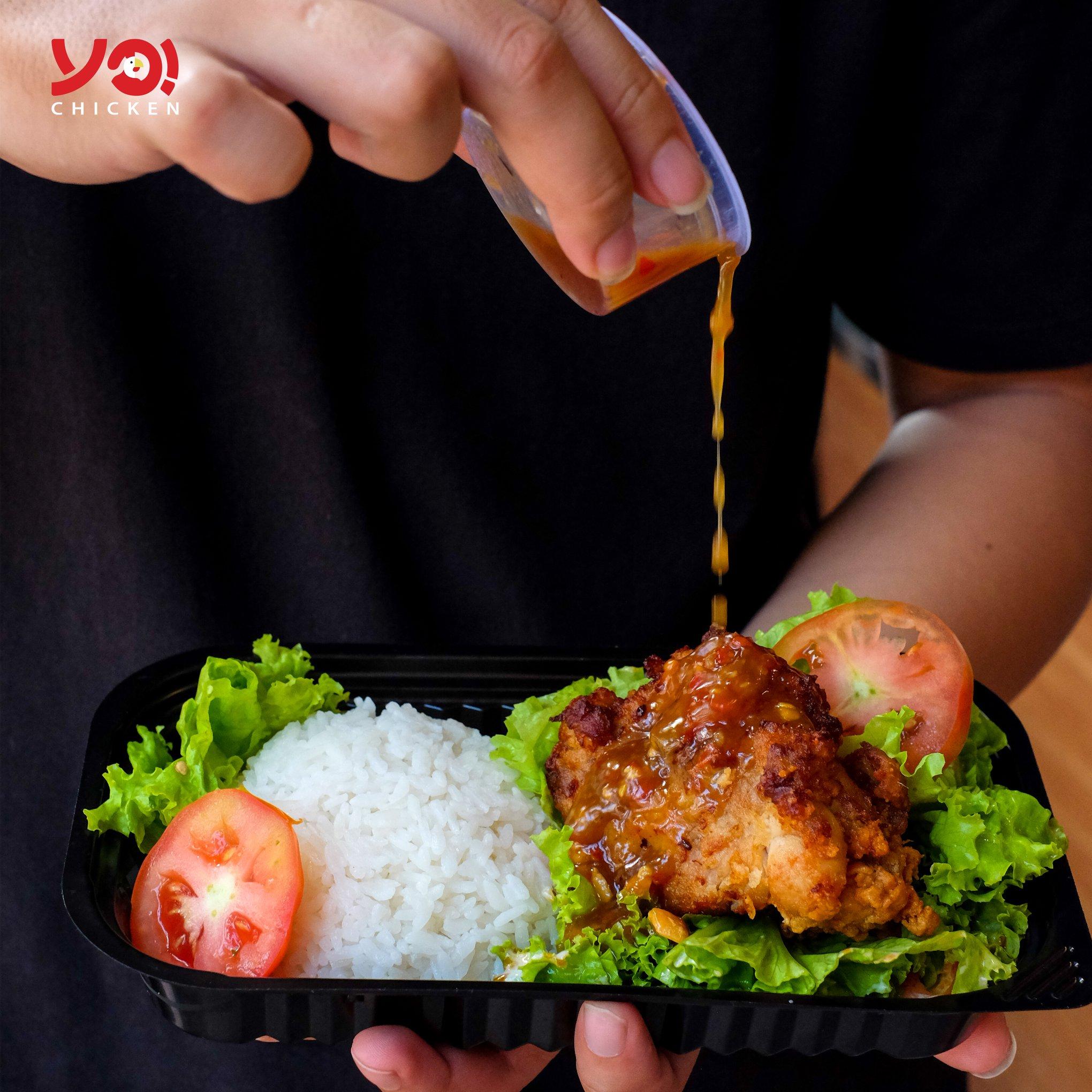 Menu Yo! Chicken