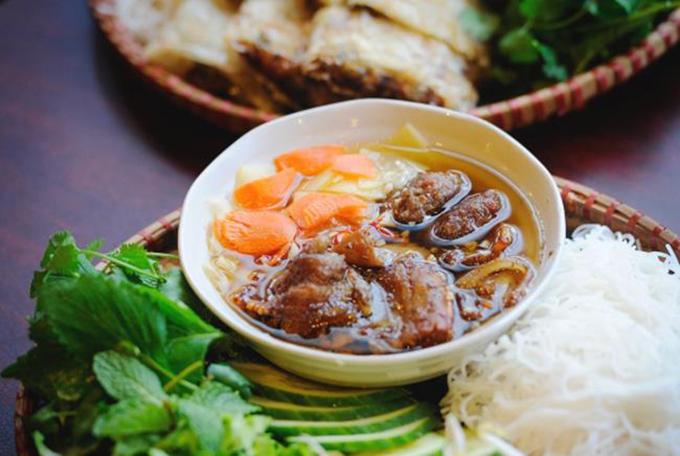 Món ăn Bún chả phố Hàng Quạt