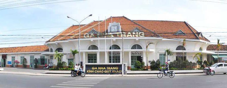 Ga Nha Trang cũng là địa điểm chụp ảnh khá lý tưởng