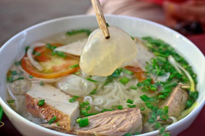 Món bún sứa đặc sản của Nha Trang