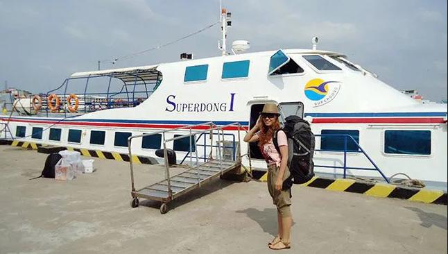 Trải nghiệm cảm giác đi tàu cao tốc tại Phú Quốc