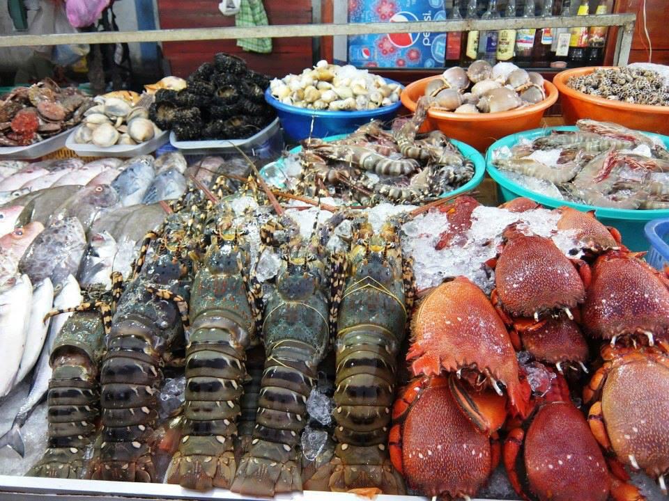 Thiên đường hải sản tại chợ đêm