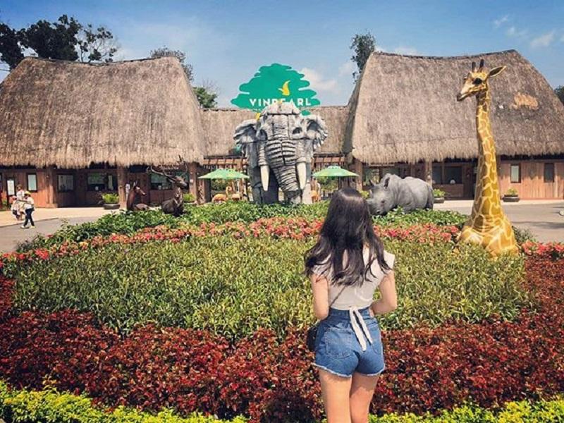 Khám phá Vinpearl Safari với rất nhiều loại động vật quý hiếm