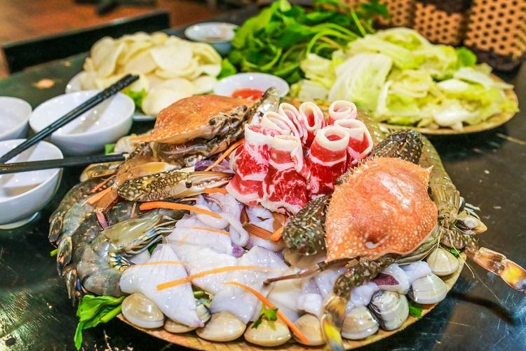 review Quán Hải sản Biển Đông, nhà hàng hải sản bình dương