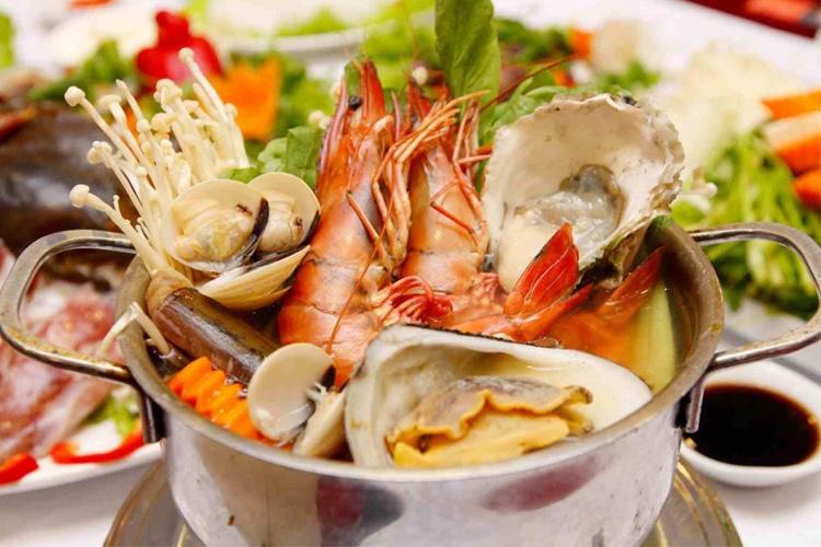 review quán Mon Mon , nhà hàng hải sản bình dương