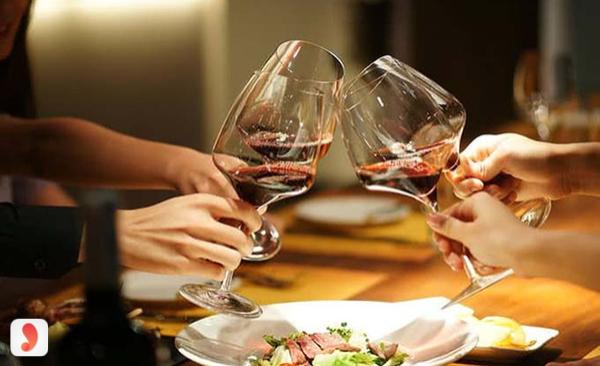 rượu vang Nhà hàng Hầm Lã Vọng