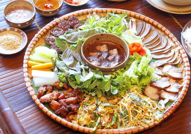 Món lợn mẹt được chế biến với nhiều món đa dạng hấp dẫn