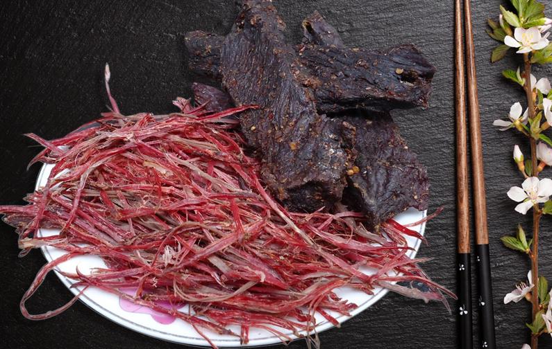 Món thịt gác bếp đặc trưng của các tỉnh Tây Bắc