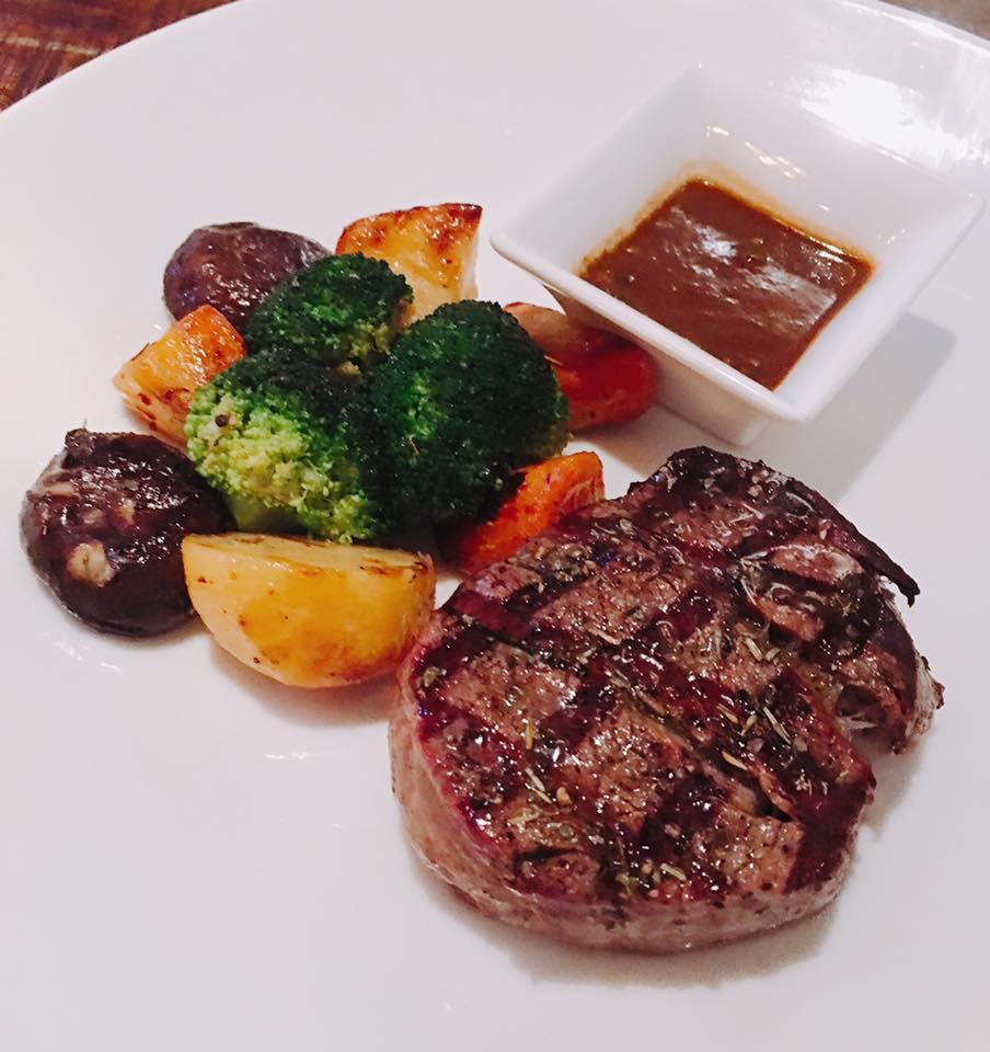 thăn bò nướng nossa steakhouse