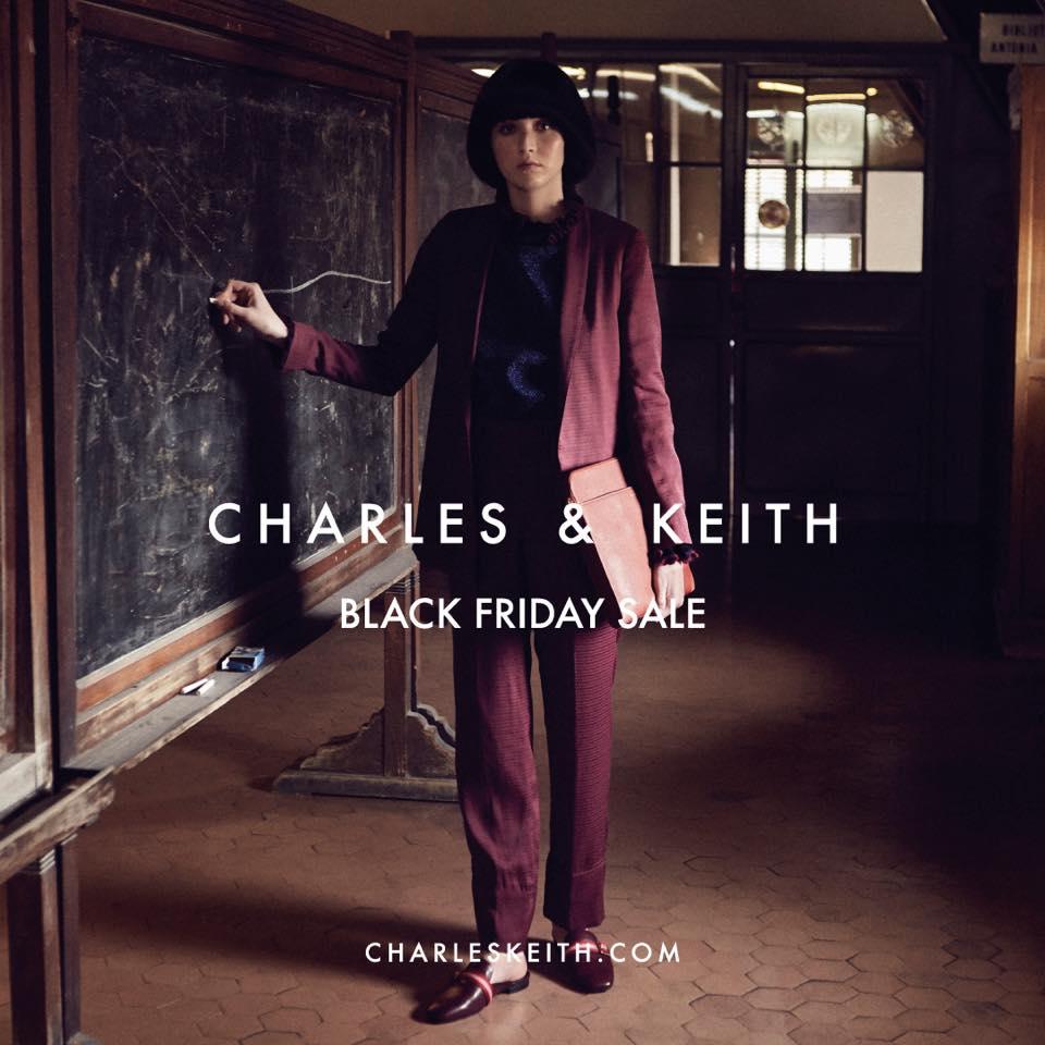 Black Friday 2019 Thương hiệu Charles & Keith
