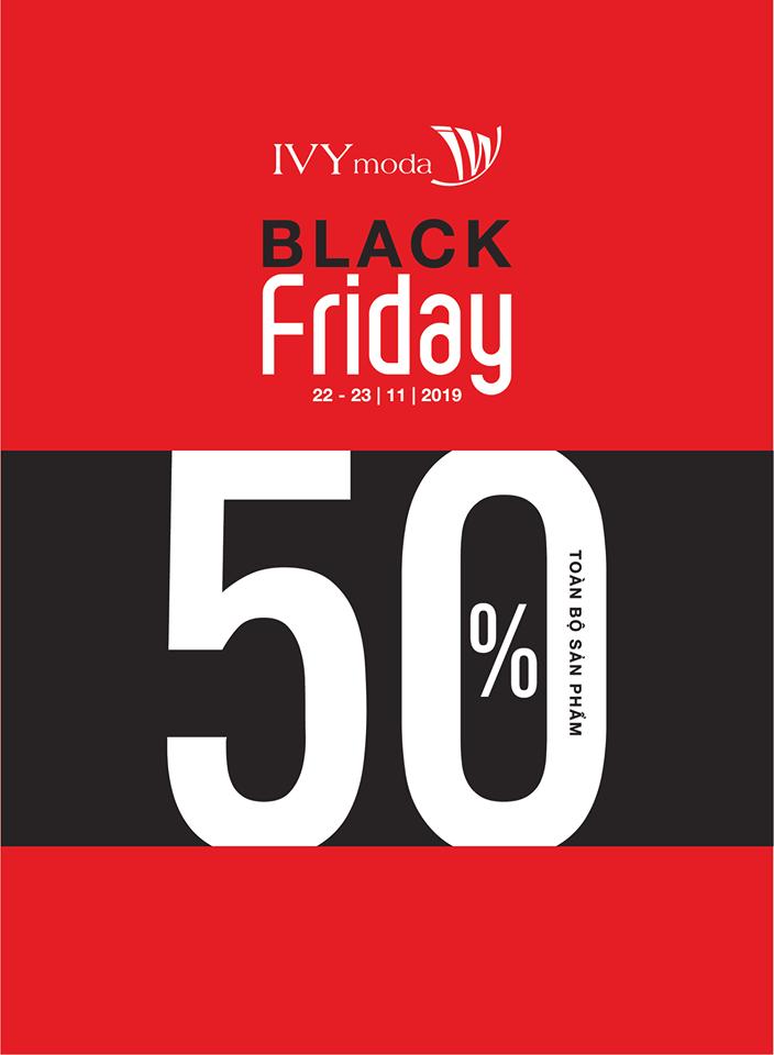 Black Friday 2019 - Thương hiệu thời trang Ivy Moda