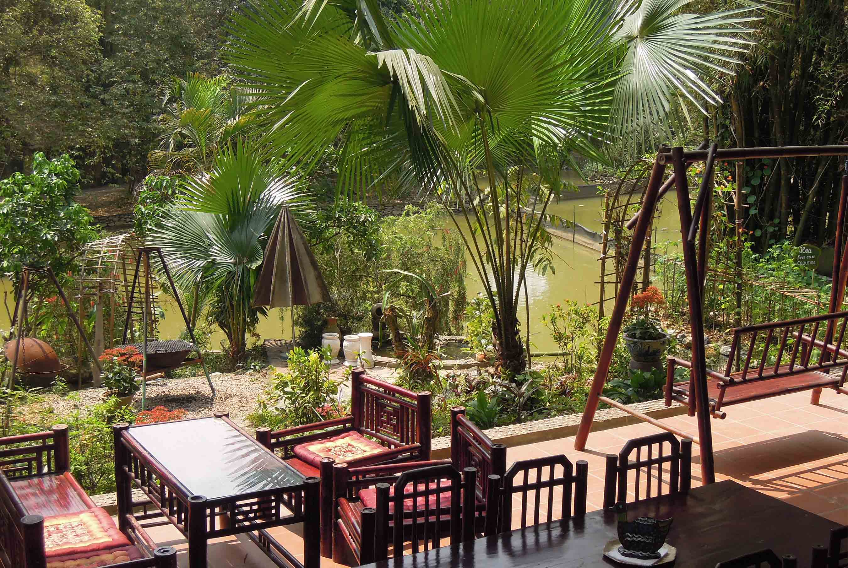 Vịt cổ xanh ResortĐịa điểm họp lớp gần Hà Nội 1